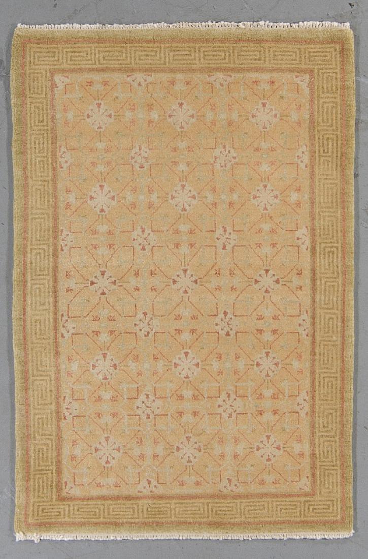 Fine Khotan Style Rug: 2'6'' x 4'