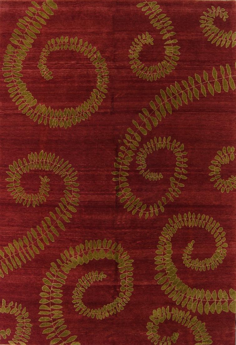 Fine Modernist Rug: 7'11'' x 11'6''