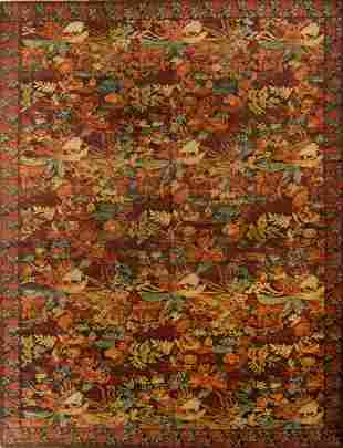 Fine Continental Style Rug 92 x 1111