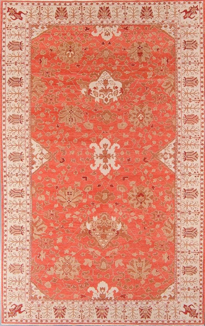 Oushak Style Rug: 7'2'' x 11'4''