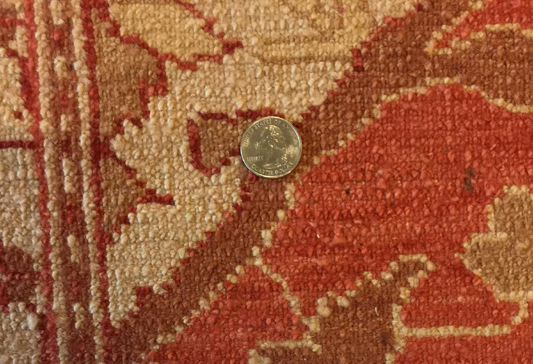 Oushak Style Rug: 7'2'' x 11'4'' - 3