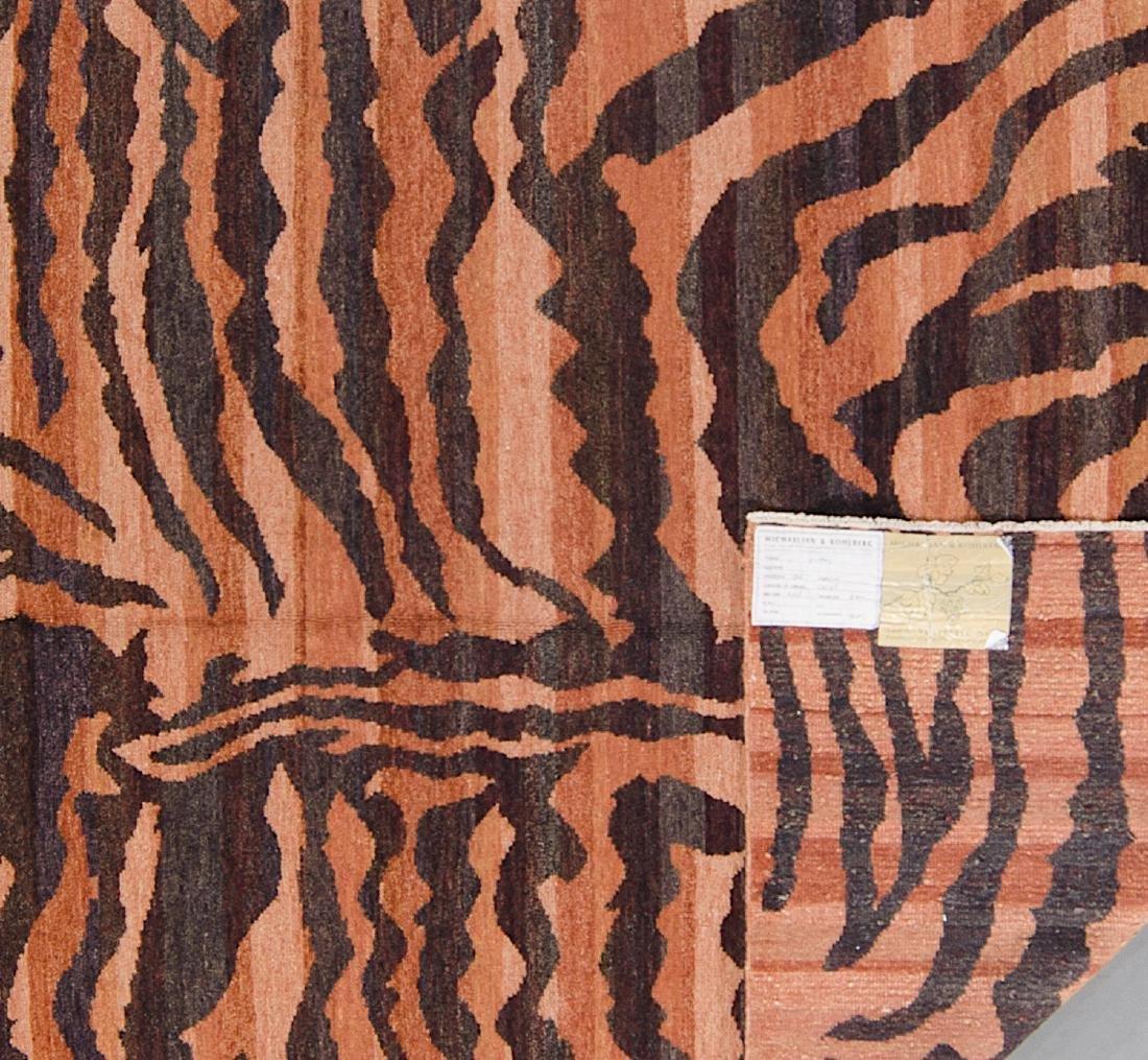 Tiger Stripe Tibetan Rug: 5'1'' x 7'1'' - 2