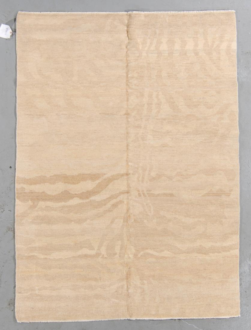 Tiger Stripe Tibetan Rug: 5' x 7'