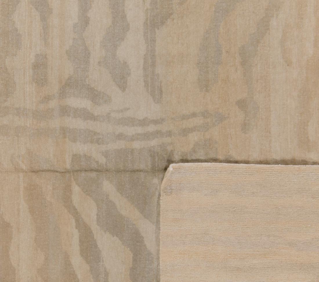 Tiger Stripe Tibetan Rug: 9'2'' x 12' - 2