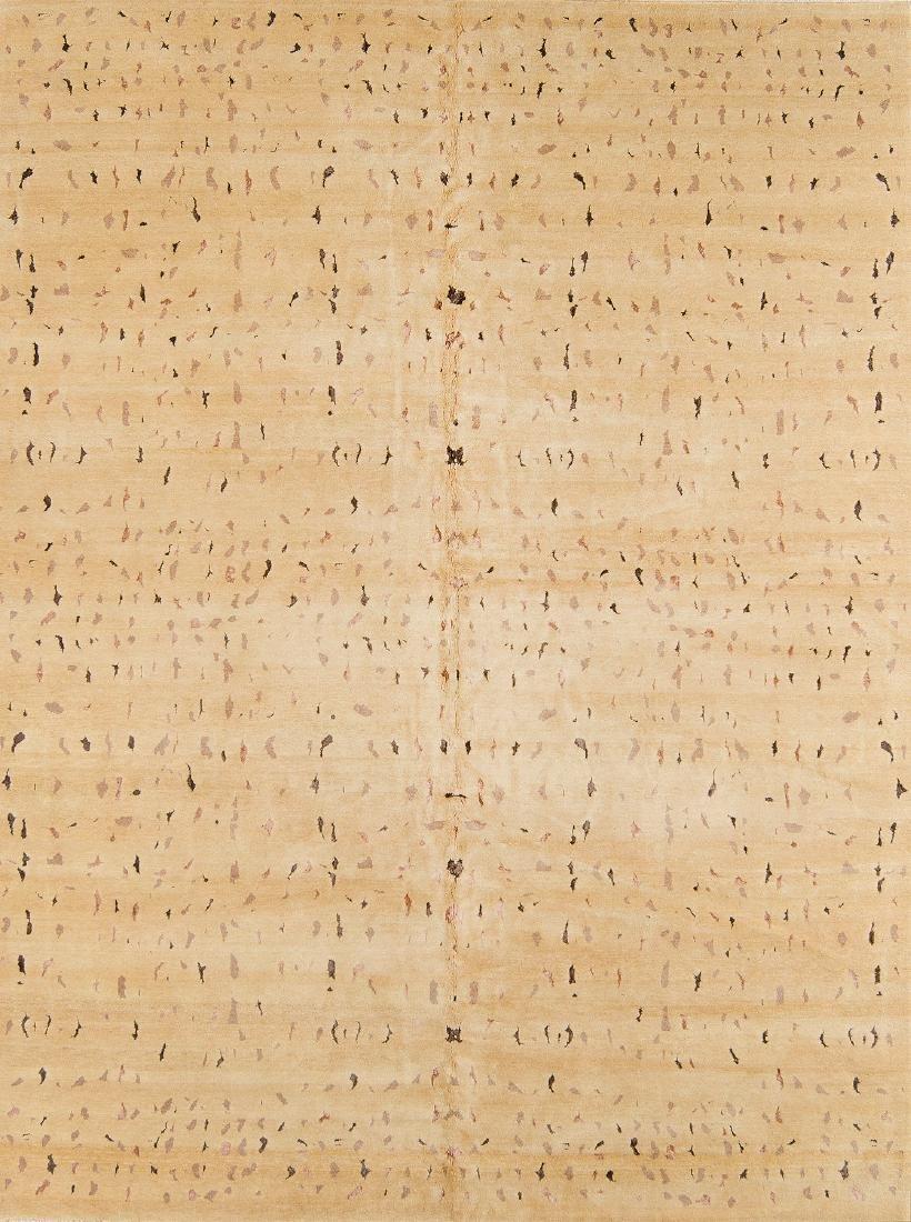 Modernist Abstract Rug: 8'11'' x 11'10''