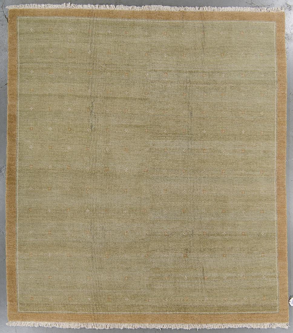 Modern Mid Century Style Natural Dye Rug: 8'10'' x 10'