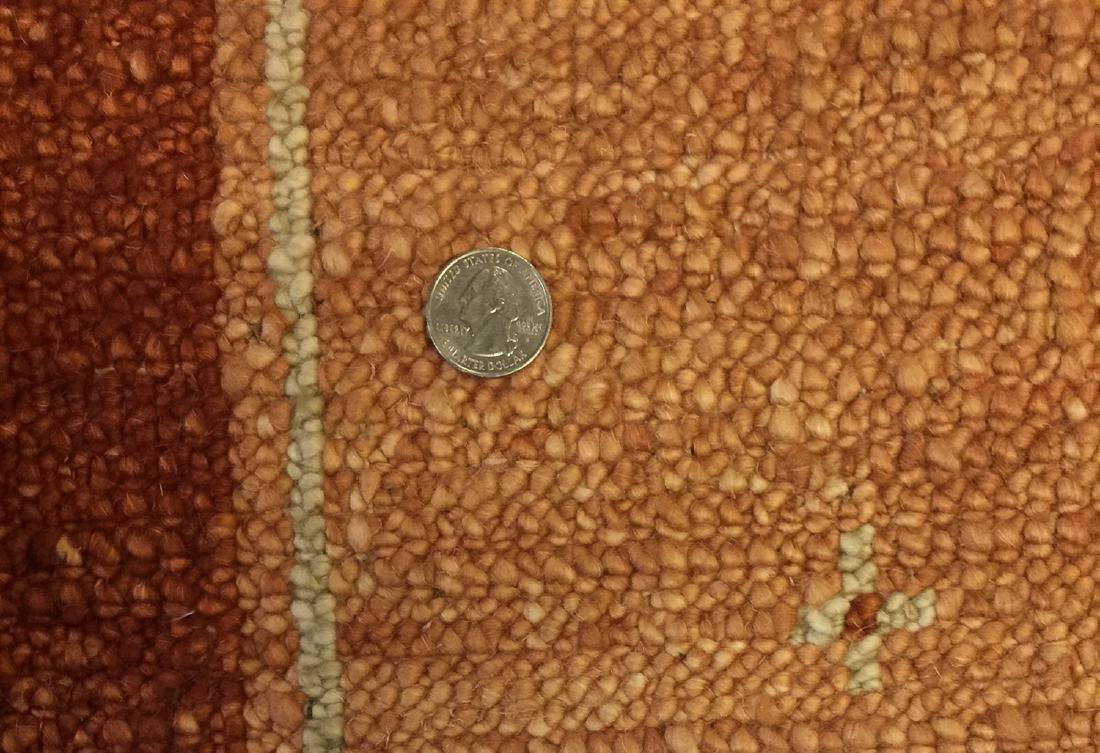 Modern Mid Century Style Natural Dye Rug: 6'1'' x 8'8'' - 3