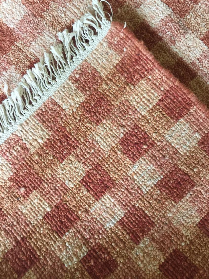 Modern Mid Century Style Natural Dye Rug: 7'10'' x - 5