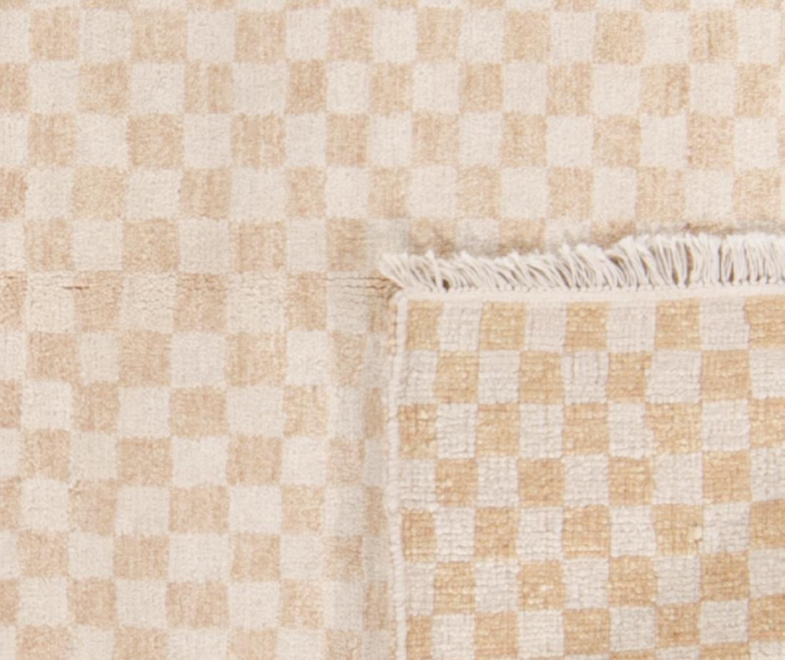 Modern Mid Century Style Natural Dye Rug: 6'1'' x 8'4'' - 2