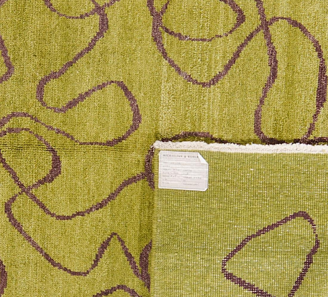 Modern Mid Century Style Natural Dye Rug: 6' x 8'8'' - 2
