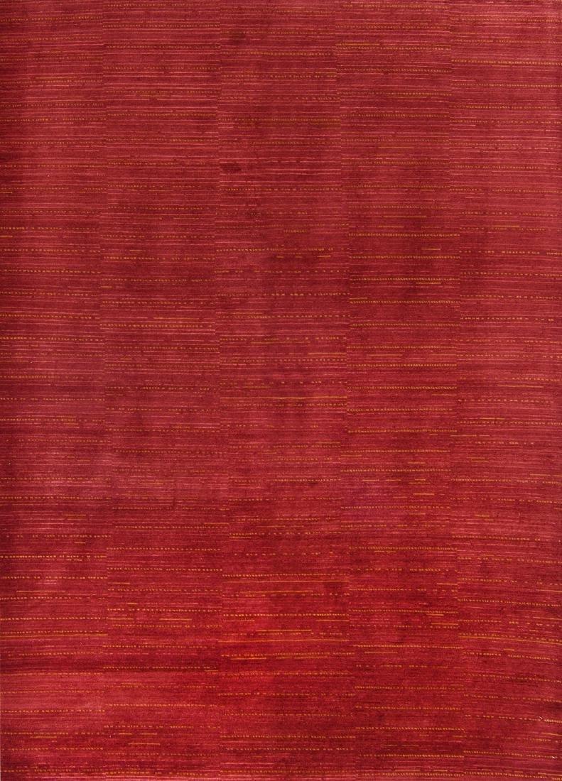 Modern Tibetan Rug: 6'4'' x 9'