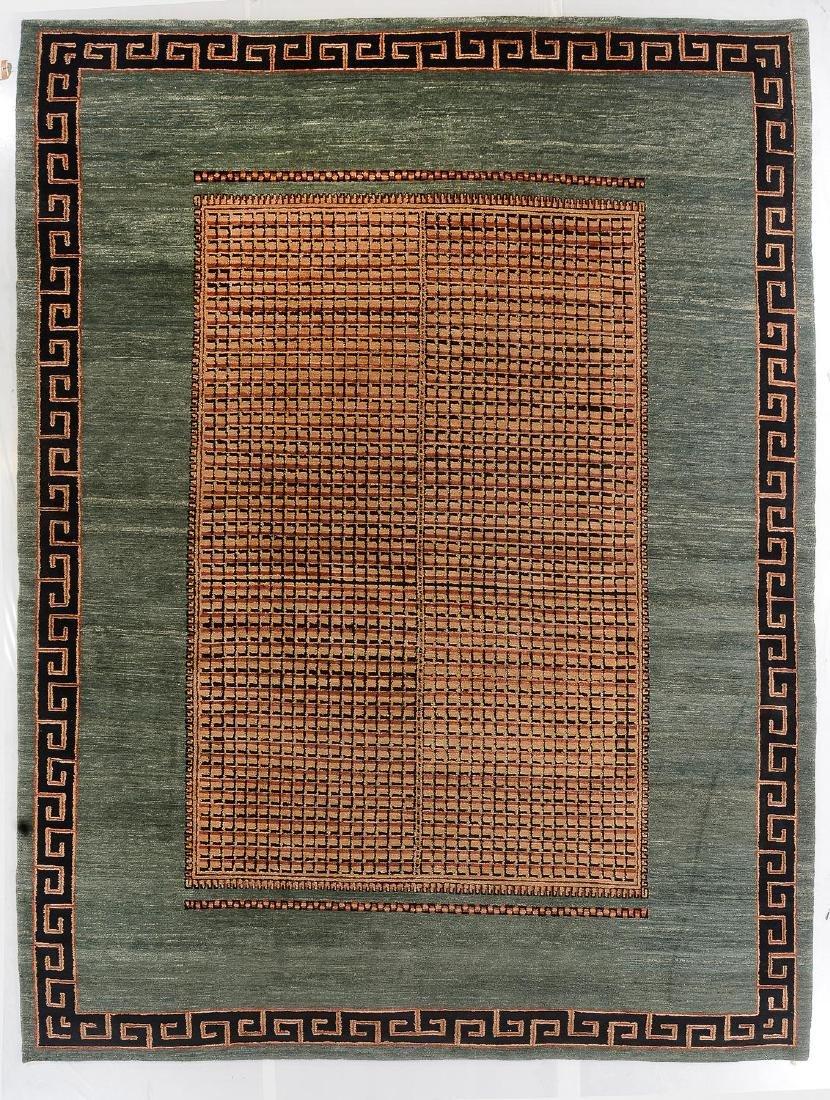 Modern Tibetan Rug: 12'4'' x 16'6''