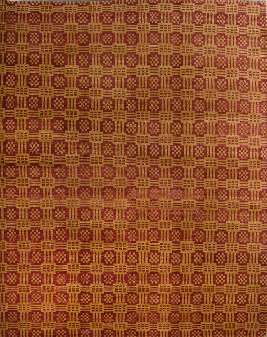Modern Tibetan Rug: 9'4'' x 11'10''