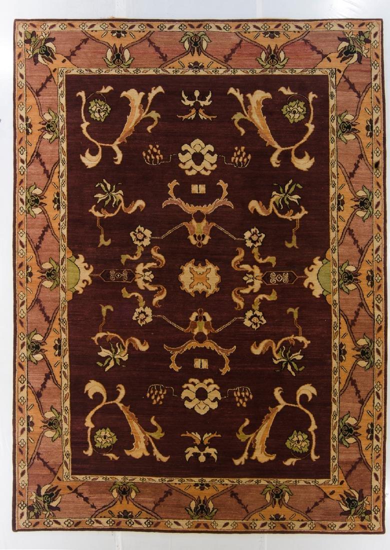 Modern Tibetan Rug: 10' x 14'2''