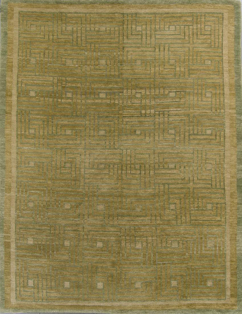 Modern Tibetan Rug: 8'1'' x 10'4''