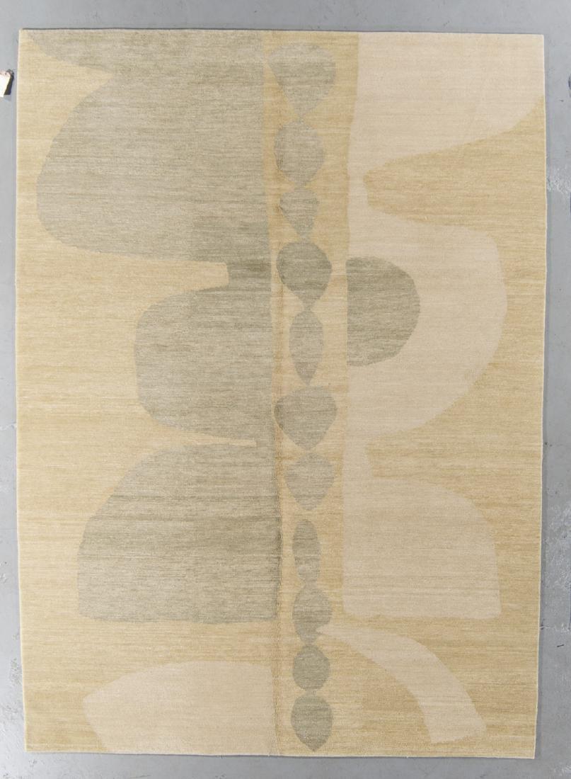 Modern Tibetan Rug: 7'4'' x 10'1''