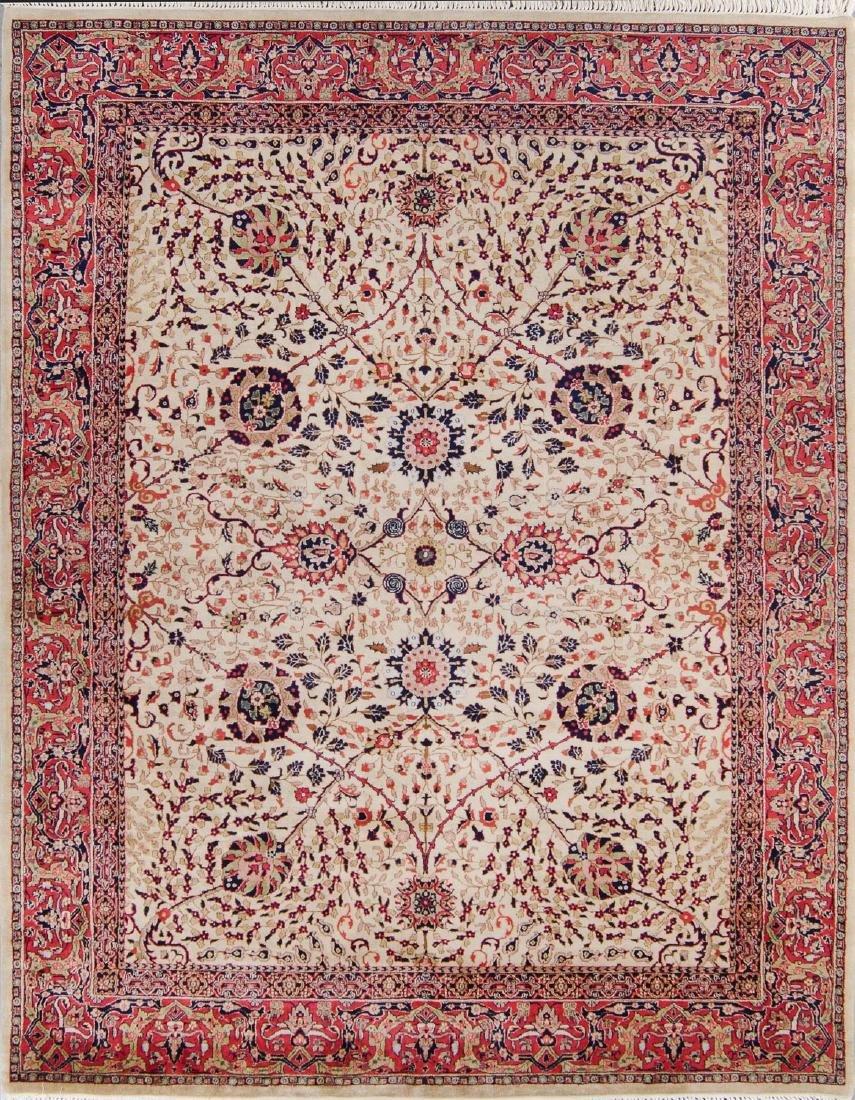 Fine Moghul Style Indian Rug: 8' x 9'8''