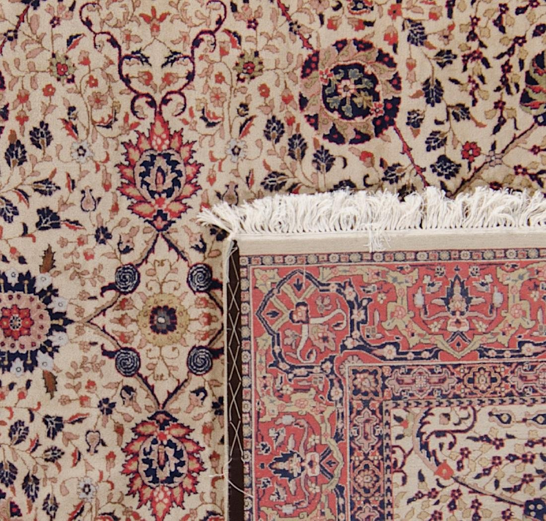 Fine Moghul Style Indian Rug: 8' x 9'8'' - 2