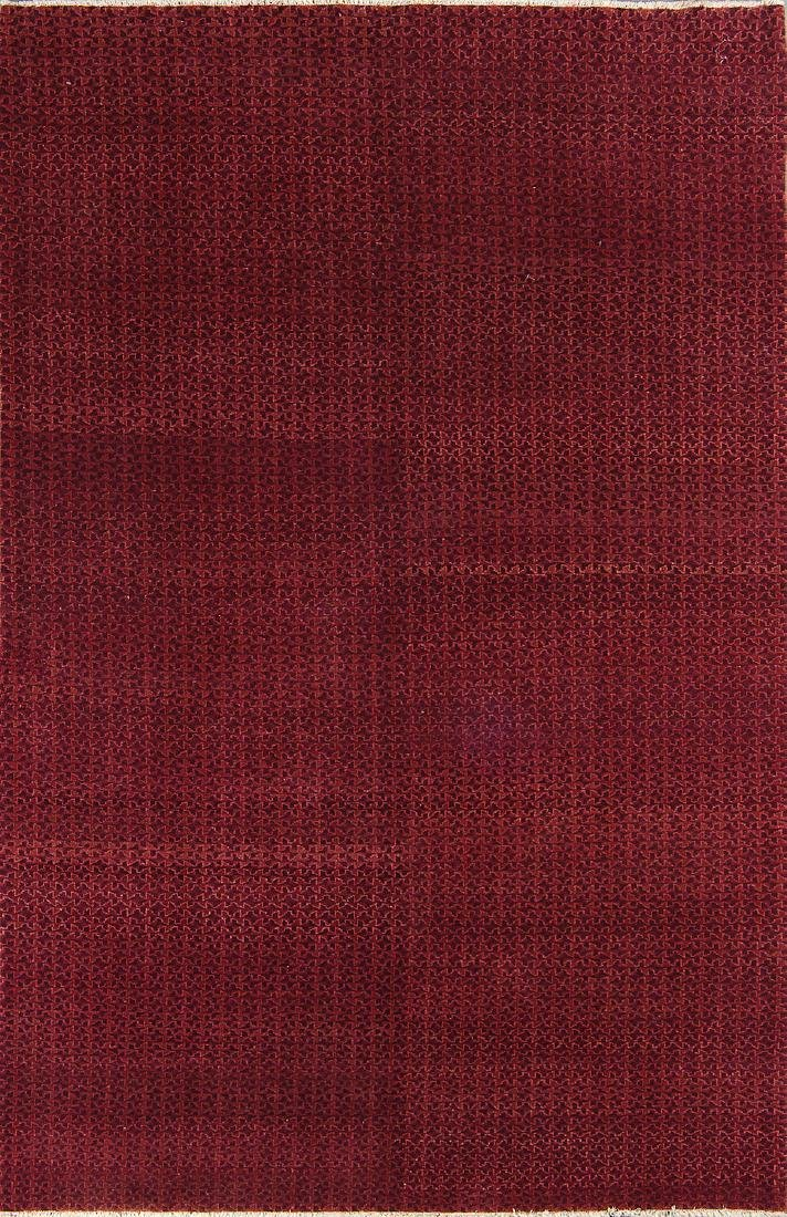 Fine Color Field Rug: 6' x 9'3''