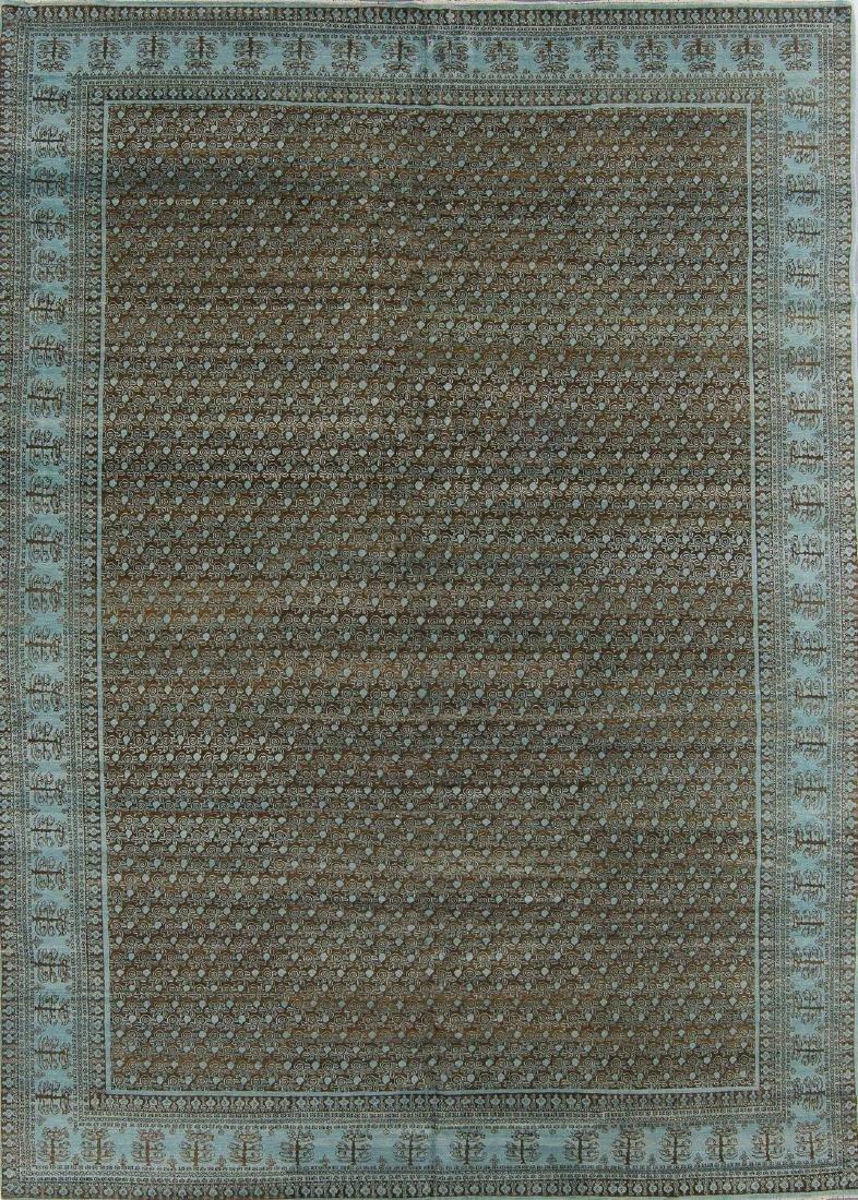 Fine Khotan Style Rug: 9'10'' x 14'