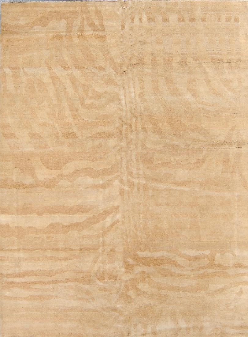 Tiger Stripe Tibetan Rug: 7'9'' x 10'5''