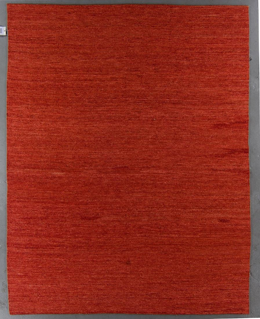 Modern Natural Dye Sumak Rug: 8' x 10'2''