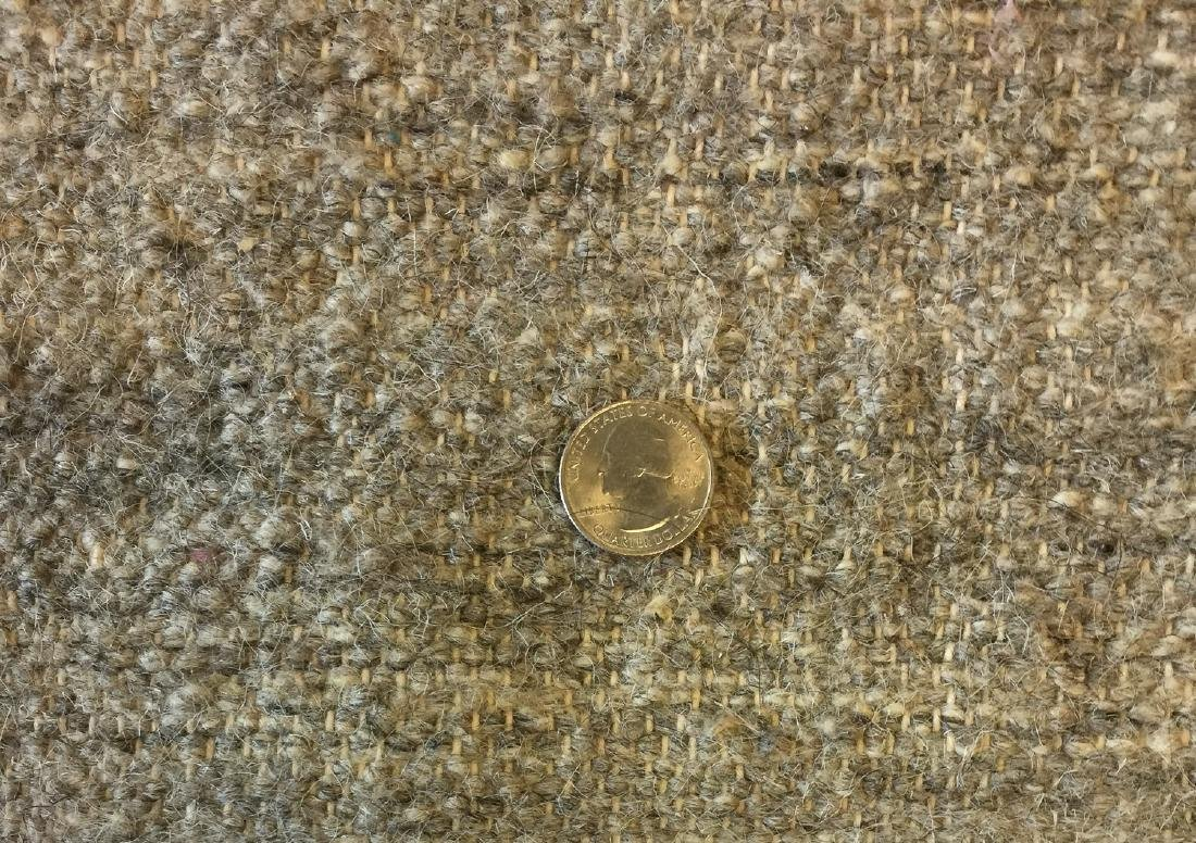 "Wool and Bamboo Silk Kilim, India: 8'1'' x 9'10"" - 3"