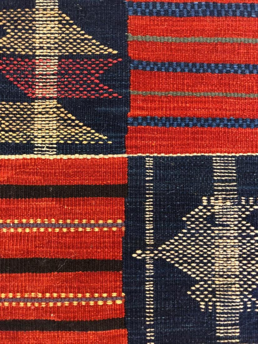 Fine Ashanti Style Kilim: 2'10'' x 7'10'' - 2