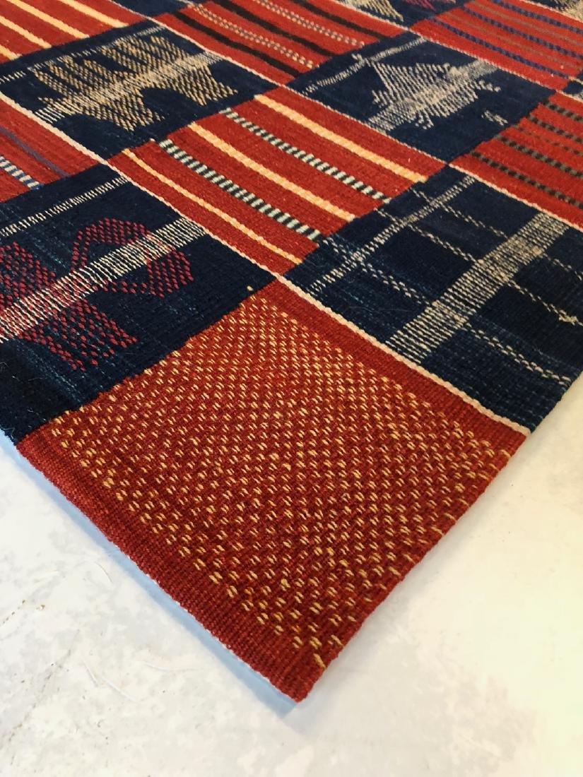 Fine Ashanti Style Kilim: 2'10'' x 7'10'' - 3