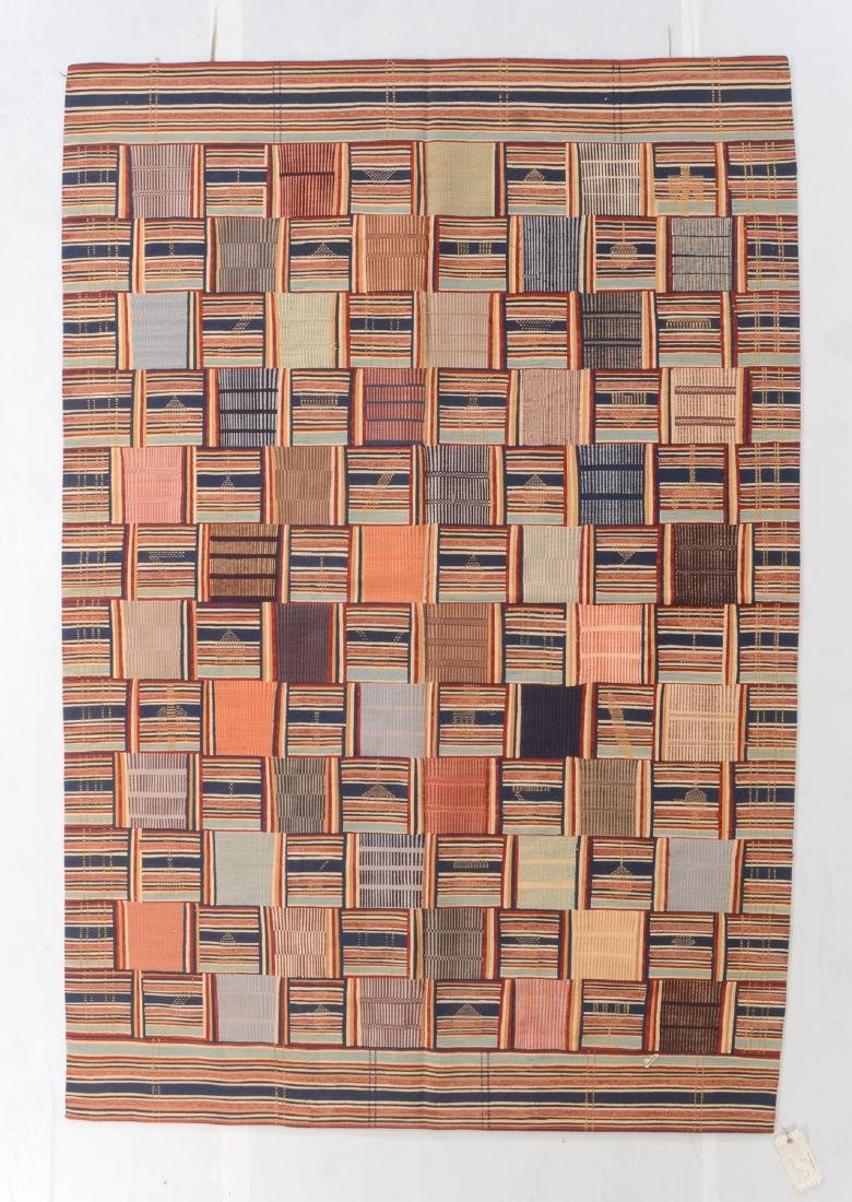 Fine Ashanti Style Kilim: 5'11'' x 8'8''