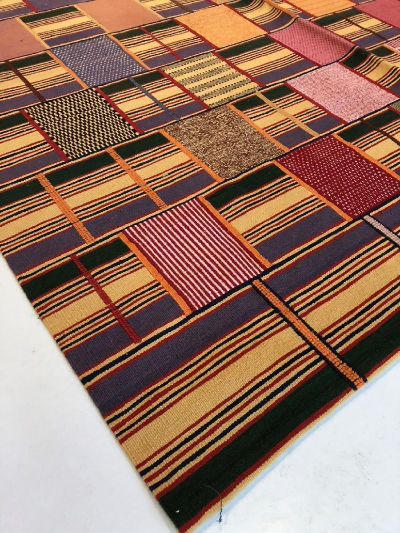 Fine Ashanti Style Kilim: 5'11'' x 8'9'' - 3