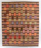Fine Ashanti Style Kilim: 8' x 9'8''
