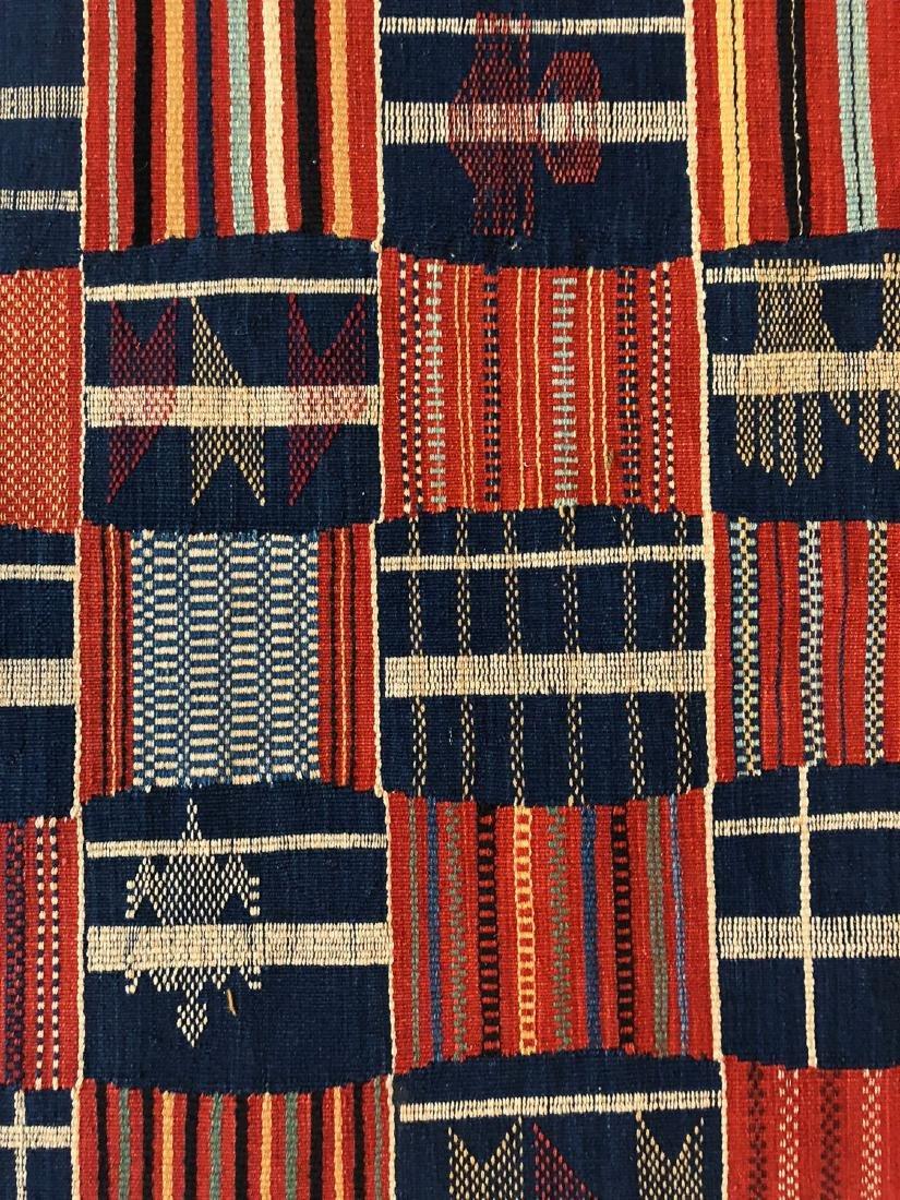 Fine Ashanti Style Kilim: 4'1'' x 5'11'' - 2