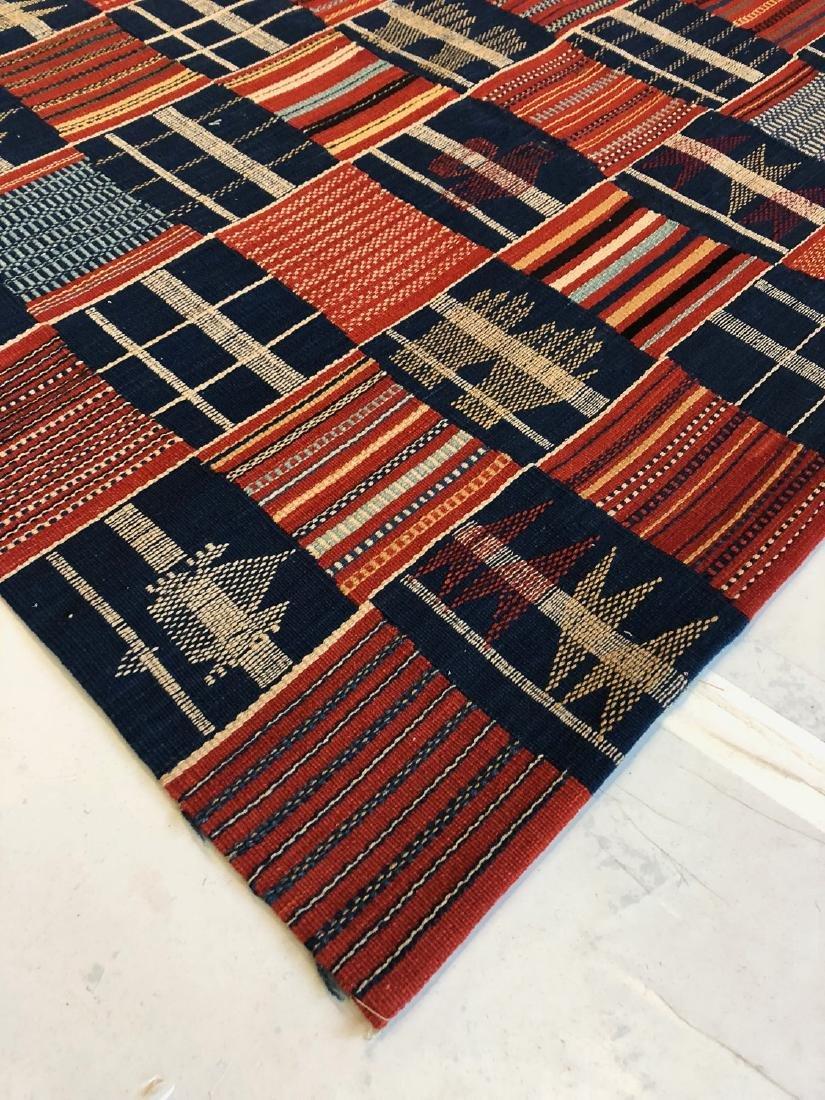 Fine Ashanti Style Kilim: 4'1'' x 5'11'' - 3