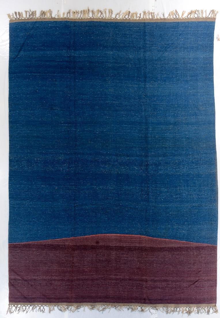 Nambu Natural Dye Kilim, Nepal: 9' x 12'6''