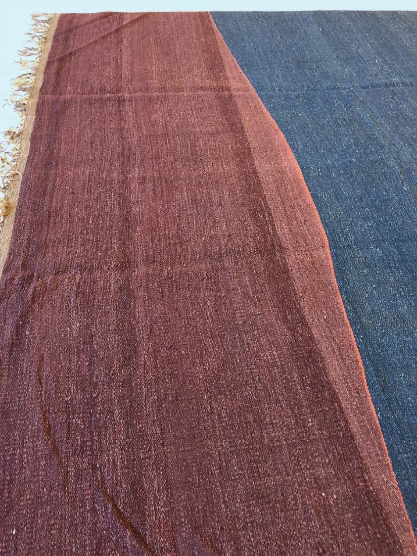 Nambu Natural Dye Kilim, Nepal: 9' x 12'6'' - 3