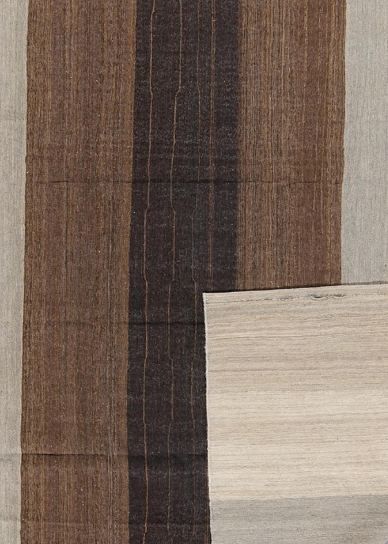 Modern Afghan Natural Dye Kilim: 8'8'' x 10'4'' - 2