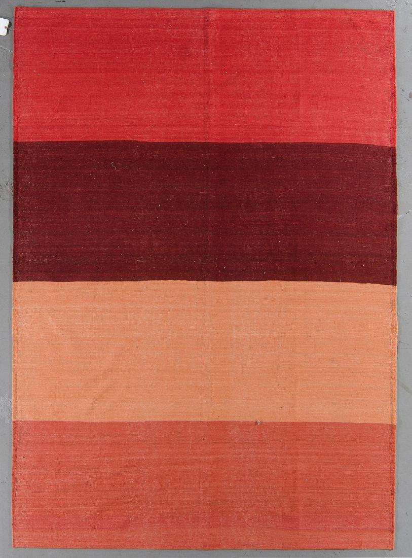 Modern Afghan Natural Dye Kilim: 6'6'' x 9'4''