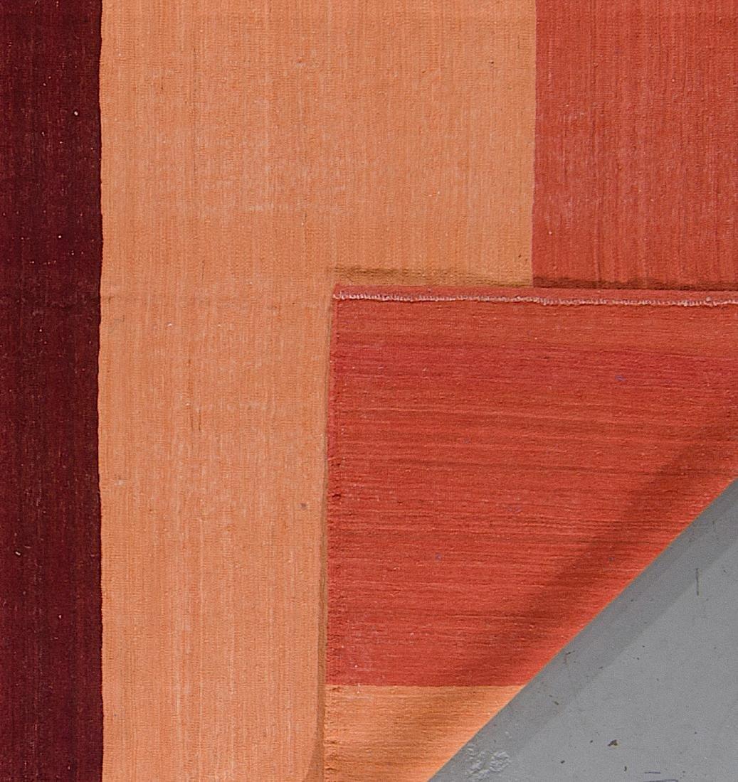 Modern Afghan Natural Dye Kilim: 6'6'' x 9'4'' - 2