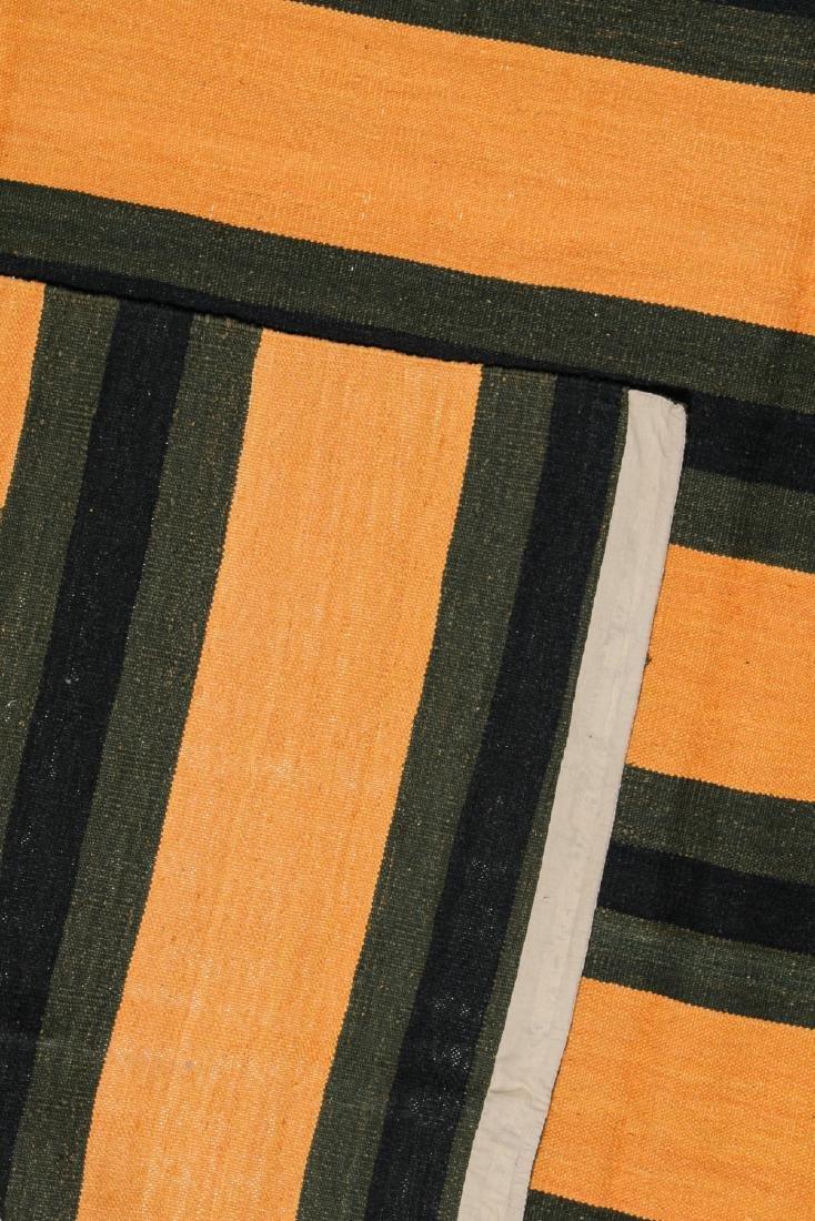 Modern Striped Kilim: 8' x 10' - 3