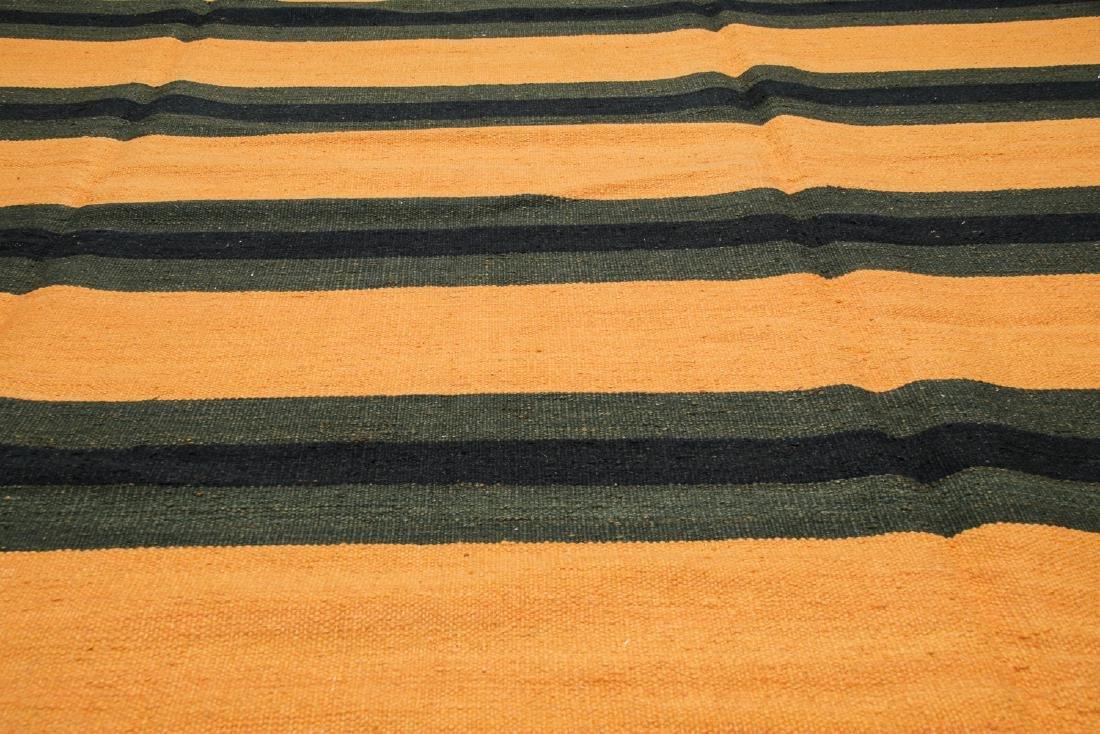 Modern Striped Kilim: 8' x 10' - 4