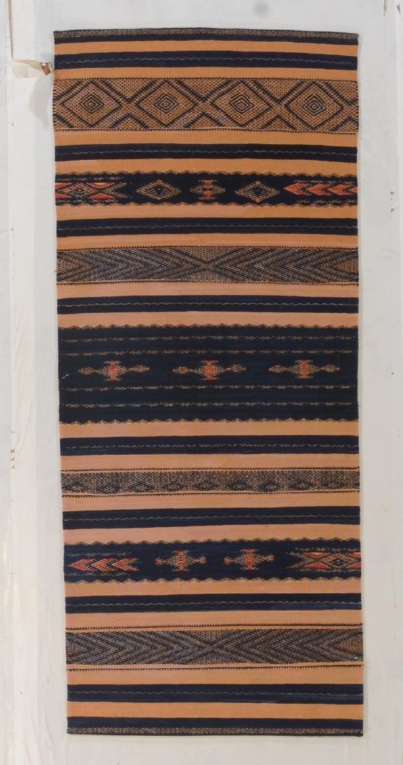 Fine Caucasian Verneh Style Kilim: 3' x 7'