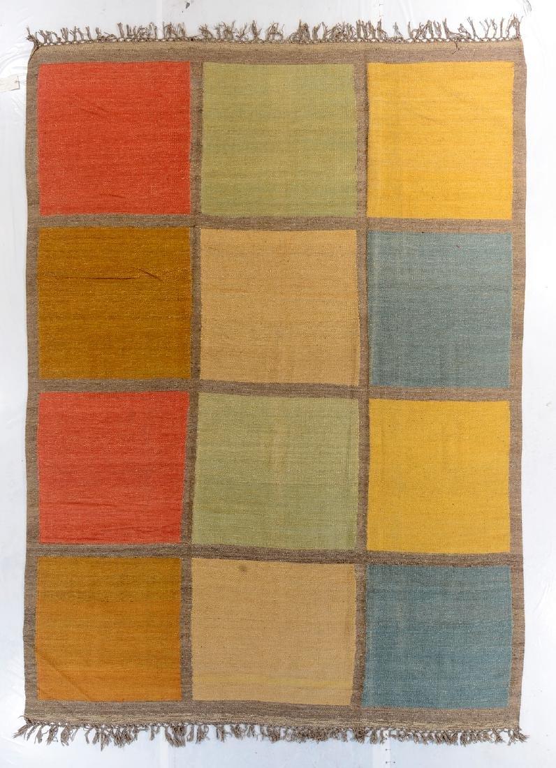 Nambu Natural Dye Kilim, Nepal: 8'10'' x 12'4''
