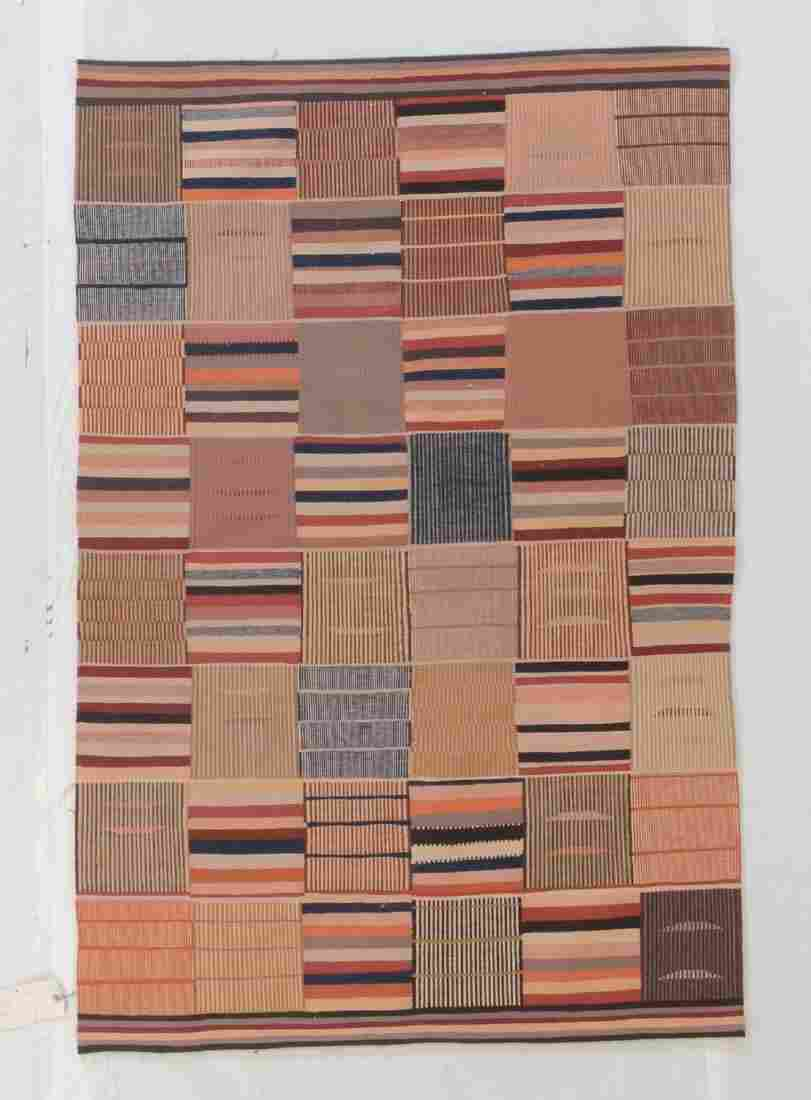 Fine Ashanti Style Kilim: 3'11'' x 5'11''