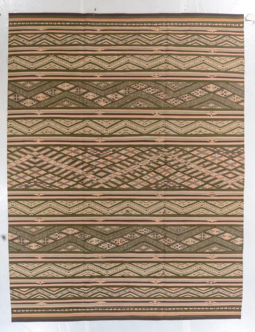 Fine Caucasian Verneh Style Kilim: 8'10'' x 11'8''