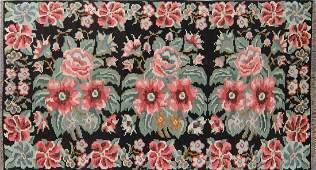 SemiAntique Bessarabian Wool Kilim Romania 51 x