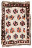 Antique West Persian Kurd Rug, Persia: 4'5'' x 6'5''