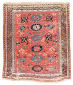 Antique Sumak Rug, Caucasus: 5'2'' x 5'10''