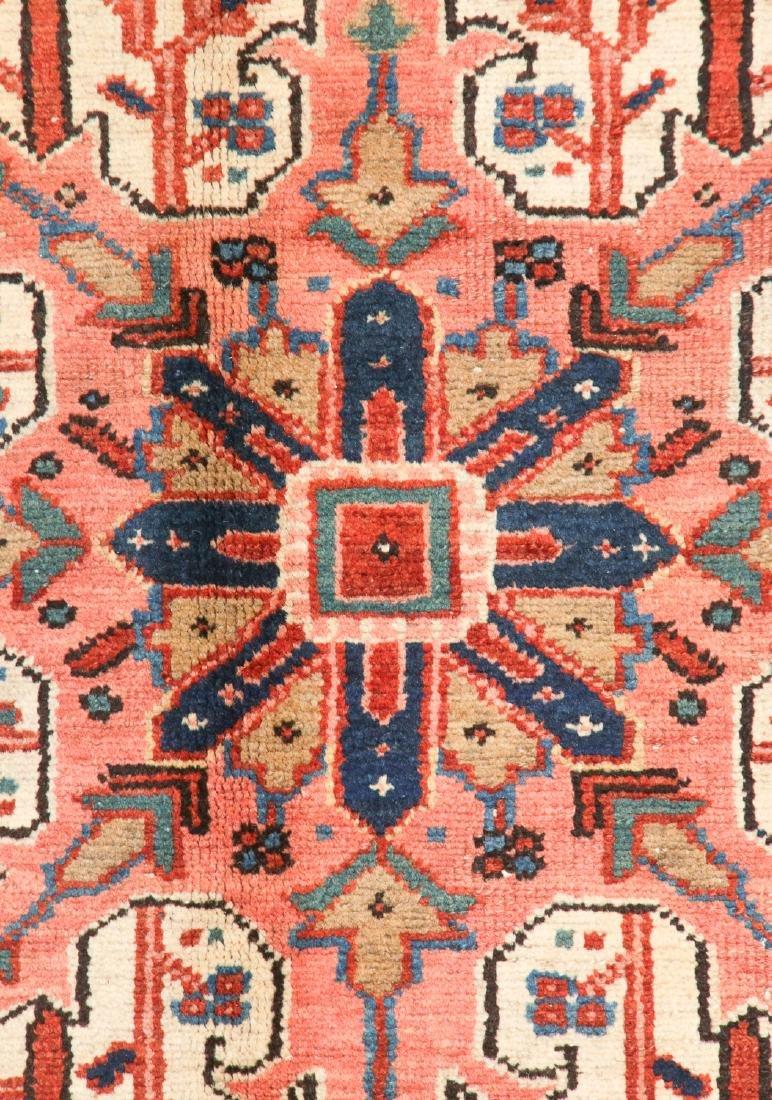 Antique Heriz Rug, Persia: 9'7'' x 11'8'' - 2