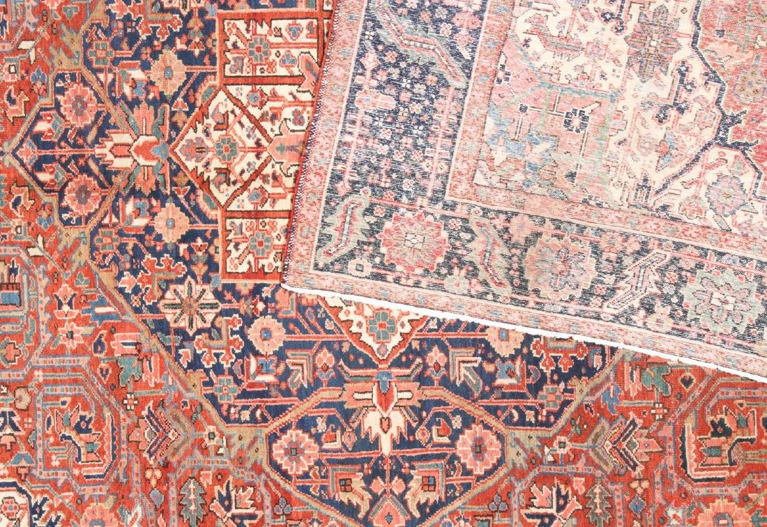 Antique Heriz Rug, Persia: 9'7'' x 11'8'' - 4